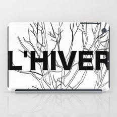 L'HIVER iPad Case