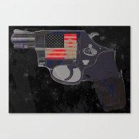 Gun Law Canvas Print