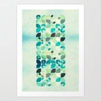 Wintery Art Print