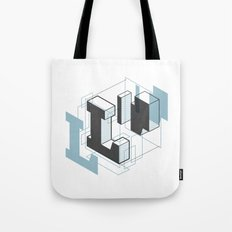 The Exploded Alphabet / L Tote Bag