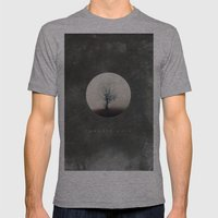 Paradis Noir Mens Fitted Tee Athletic Grey SMALL