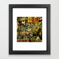 PIECESDETACHEES Framed Art Print