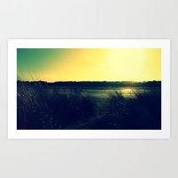 Grass Lands Art Print
