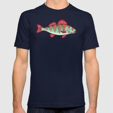 fisher's dream Mens Fitted Tee Navy SMALL