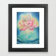 Aurora Elephant Framed Art Print