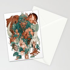 Dark Souls Gang Stationery Cards