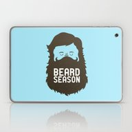Laptop & iPad Skin featuring Beard Season by Chase Kunz