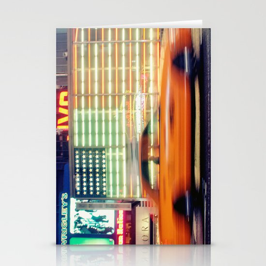 NYC Taxi Stationery Card