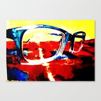 I need contacts Canvas Print