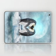 Listen Hard (Penguin Dre… Laptop & iPad Skin