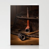 The Pipe Rack Stationery Cards