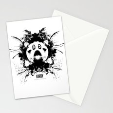 Kirby Ink Blot Geek Psychological Disorders Stationery Cards