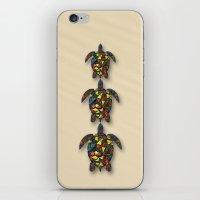 Animal Mosaic - The Turt… iPhone & iPod Skin