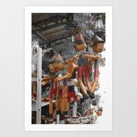 My Pinocchio Art Print