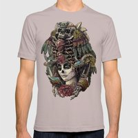 Day Of The Dead (Ancient… Mens Fitted Tee Cinder SMALL