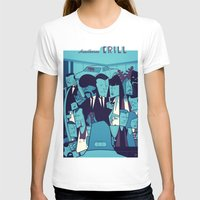 pulp fiction T-shirts featuring PULP FICTION variant by Ale Giorgini