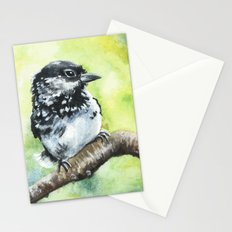 Green Bird Stationery Cards