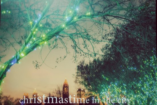 Christmastime In The City Art Print