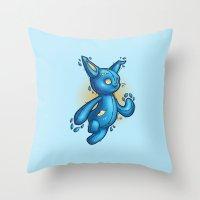 Toyrabbit Throw Pillow