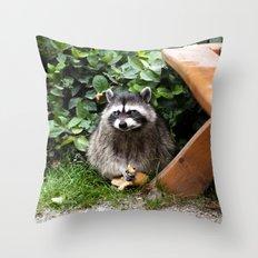 lunch date Throw Pillow