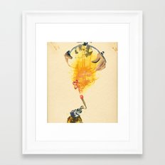 Mingadigm | Feel Me Framed Art Print