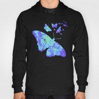 Flower & Butterflies Hoody