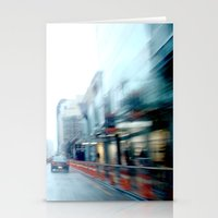Rain Two Stationery Cards