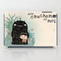 Mon Cauchemar Et Moi iPad Case