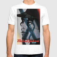 Looking Out Across The N… Mens Fitted Tee White SMALL