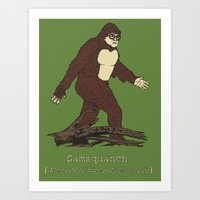 The Samsquanch (Anthropo… Art Print