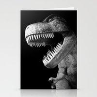 Tyrannosaurus Rex Dinosa… Stationery Cards