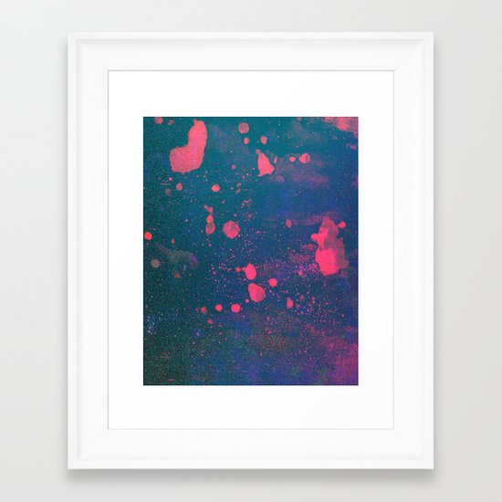 Untitled 20110307a (Abstract) Framed Art Print