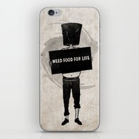 Need Food For Life iPhone & iPod Skin