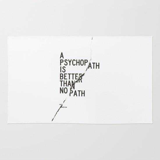 Psychopath Area & Throw Rug