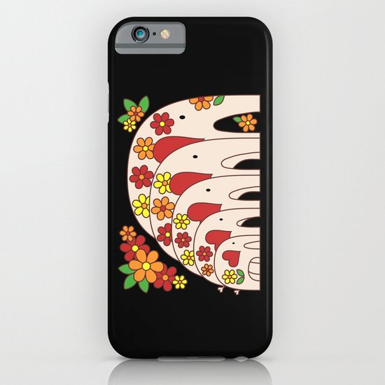 Matrioshka Elephants (large) iPhone & iPod Case