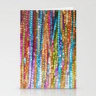 Rainbow Mosaic Stationery Cards