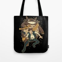 Ghibli Wars Tote Bag