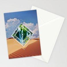 barren lush Stationery Cards
