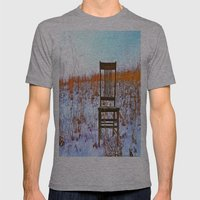 Winter Can Be Lonely Mens Fitted Tee Athletic Grey SMALL