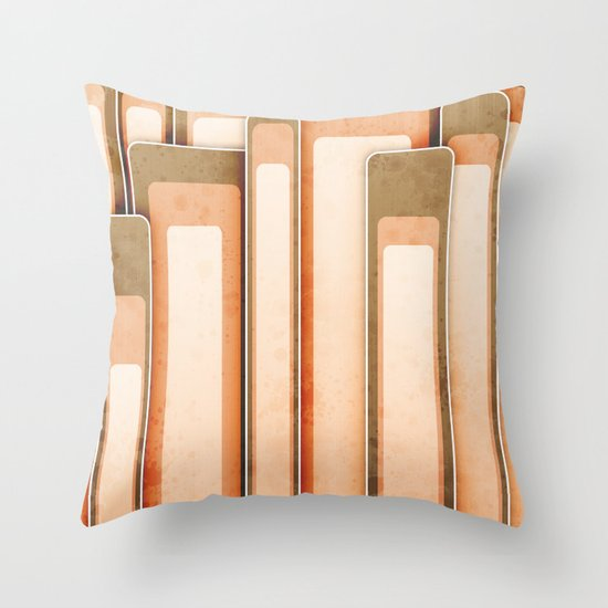 Time For A Little Retro. Throw Pillow