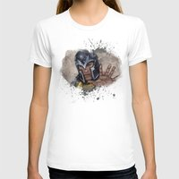 Magneto. Womens Fitted Tee White SMALL