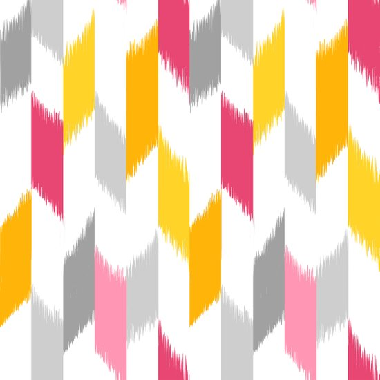 Ikat Stripes Art Print