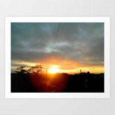 Simply Sunrise Art Print