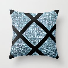 Windowpane Throw Pillow