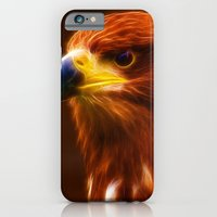 Golden Eagle Eye Fractalius iPhone 6 Slim Case