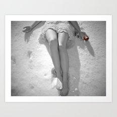 Snow White's Fall Art Print