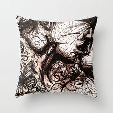 About the Chaos Theory and The Butterfly Effect  Throw Pillow
