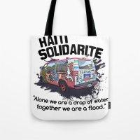 Haiti Solidarity - Ayiti… Tote Bag