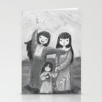 Emirati Sisters Stationery Cards