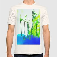 Tres Palmas Mens Fitted Tee Natural SMALL